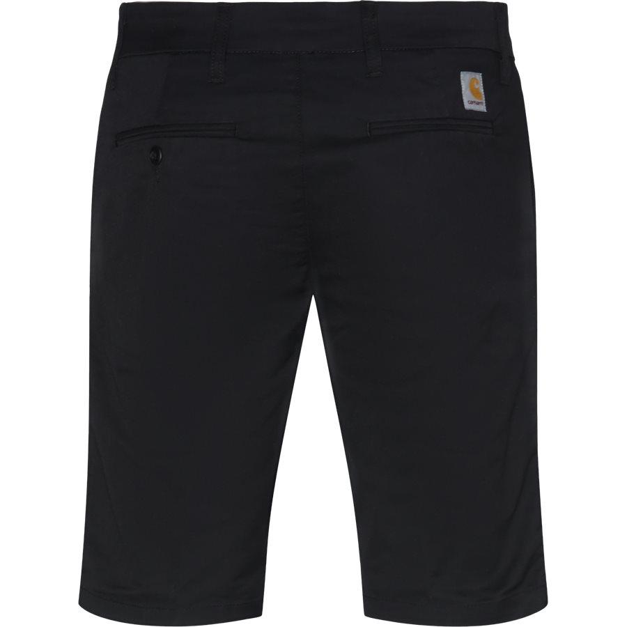 SID SHORT. I010722 - Sid Shorts - Shorts - Slim - BLACK RINSED - 2